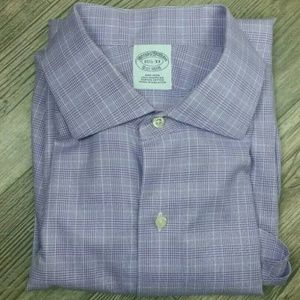 Brooks Brothers 15 1/2 - 33 Button Up Purple